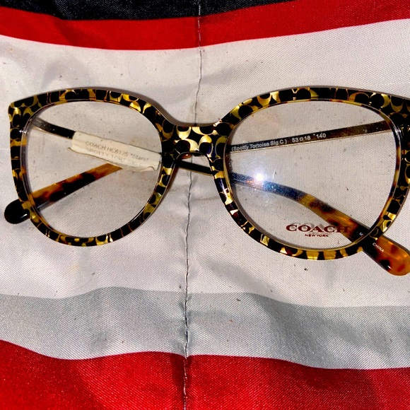 Glasses Coach brand new cheetah design